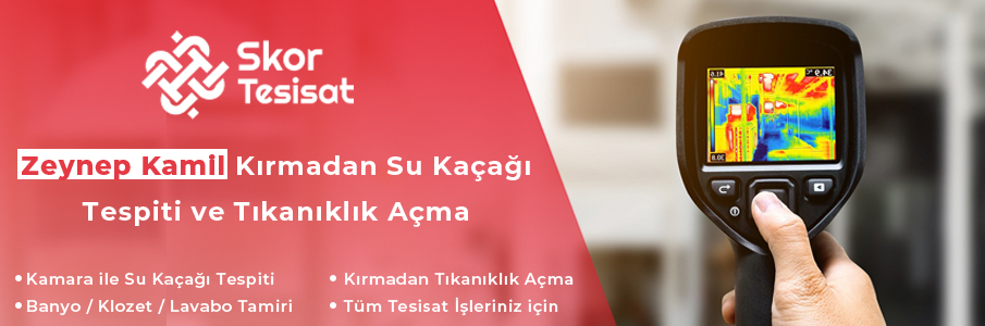 Zeynep Kamil Su Tesisatçısı