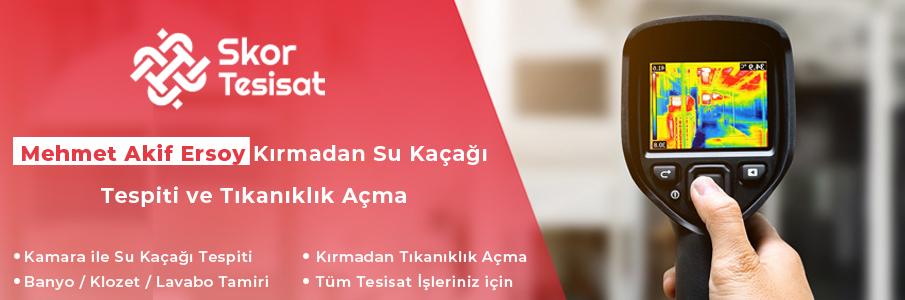 Mehmet Akif Ersoy Su Tesisatçısı